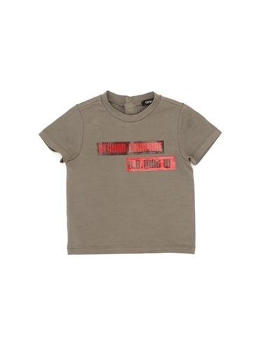 BG Baby Erkek Bebek Antrasit T-Shirt Antrasit